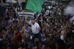 PalestiniansCelebrate-Gaza-Victory