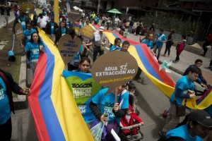 TOPSHOTS-COLOMBIA-CLIMATE-DEMO