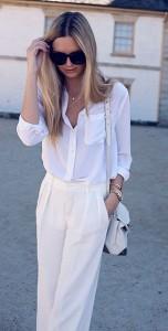 เสื้อเชิ้ต-สีขาว-Equipment-กางเกง-Zara-กระเป๋า-Alexander-Wang-รองเท้าส้นสูง-Zimmermann-แว่นตา-Celine-นาฬิกา-Michael-Kors