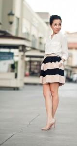 เสื้อเชิ้ต-สีขาว-J.Crew-กางเกง-BCBG-รองเท้า-Christian-Louboutin-กระเป๋า-Chloe