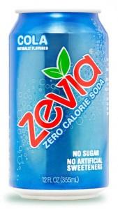 Zevia-น้ำอัดลมแคลอรี่เท่ากับศูนย์-ไม่มีน้ำตาล
