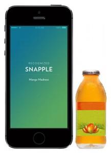 แก้วรู้ว่าเครื่องดื่มที่ใส่คือ-Snapple