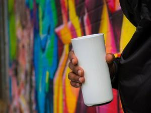 แก้วอ่านเครื่องดื่มที่ใส่