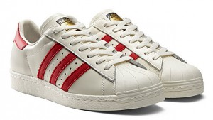 Adidas-Superstar-80s-Vintage-แถบแดง