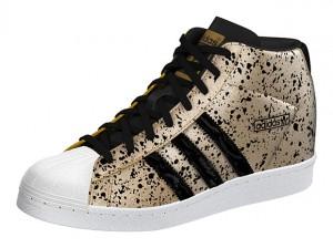 Adidas-Superstar-UP-W-สีทองลายดำ-แถบดำ-โลโก้ทอง