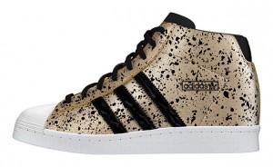 Adidas-Superstar-UP-W-สีทองลายดำ-แถบดำ