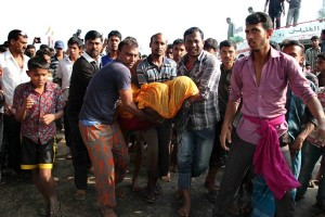 BANGLADESH-FERRY-ACCIDENT