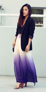 กระโปรงไล่สี-Sugarlips-เสื้อกล้ามสีดำ-Brandy-Melville-เสื้อสูท-สีดำ-HM-รองเท้า-Zara