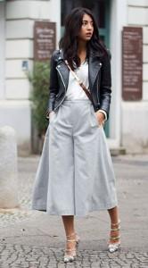 กางเกง-Culottes-สีเทา-Carin-Wester-แจ็คเก็ตหนัง-Zara-เสื้อสีขาว-Baujken-รองเท้า-The-Mode-Collective-กระเป๋า-Etienne-Aigner