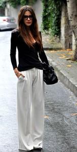 แฟชั่นขาวดำ-เสื้อ-Zara-กางเกง-Mango-รองเท้า-Zara-กระเป๋า-Dior-กำไล-Gazzas