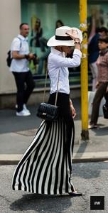 แฟชั่นขาวดำ-Street-Style