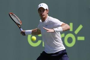 Tennis: Miami Open-Murray v Giraldo