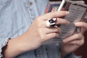 แหวนรูปสุนัขบลูด็อก