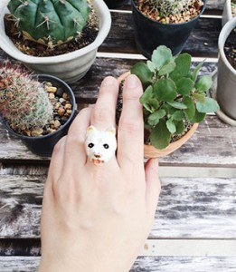 แหวนรูปหมาเวสตี้