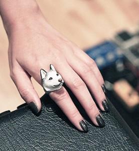 แหวนรูปหมาไซบีเรียน-ฮัสกี้