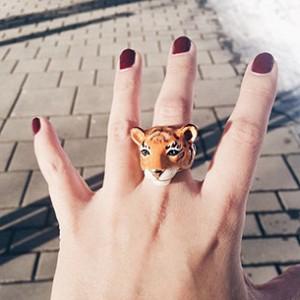 แหวนรูปเสือ