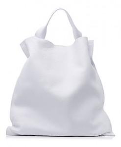 กระเป๋าสีขาว-JIL-SANDER