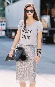 กระโปรงทรงดินสอ-ปักเลื่อม-เสื้อยืดเทา-Peony-Lim-New-York-Fashion-Week-Spring-Summer-2013
