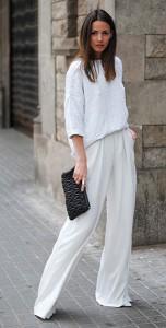 ชุดสีขาว-Zara-กางเกงสีขาว-Zara-รองเท้า-Zara-กระเป๋าคลัทช์-Miu-Miu-แว่านตากันแดด-Other-Stories