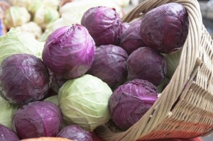 Vegetable, Red Cabbage, Cabbage,