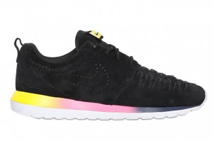 nike-roshe-run-nm-woven-black-suede-rainbow-sole-1
